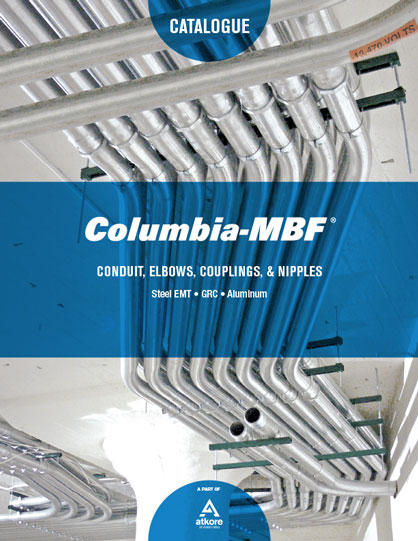 Electrical Conduit Catalogue Columbia-MBF